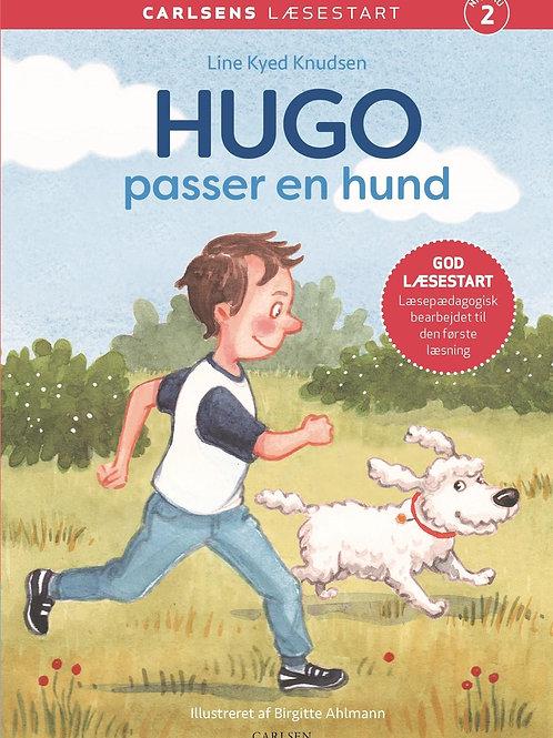Line Kyed Knudsen, Carlsens Læsestart: Hugo passer en hund