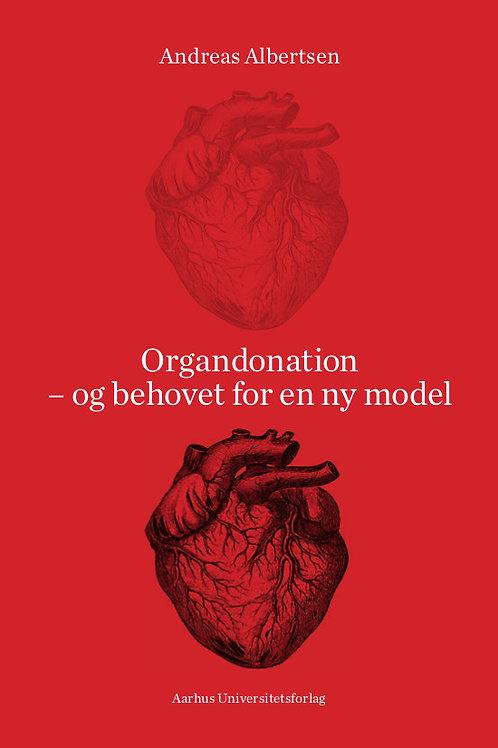 Andreas Albertsen, Organdonation