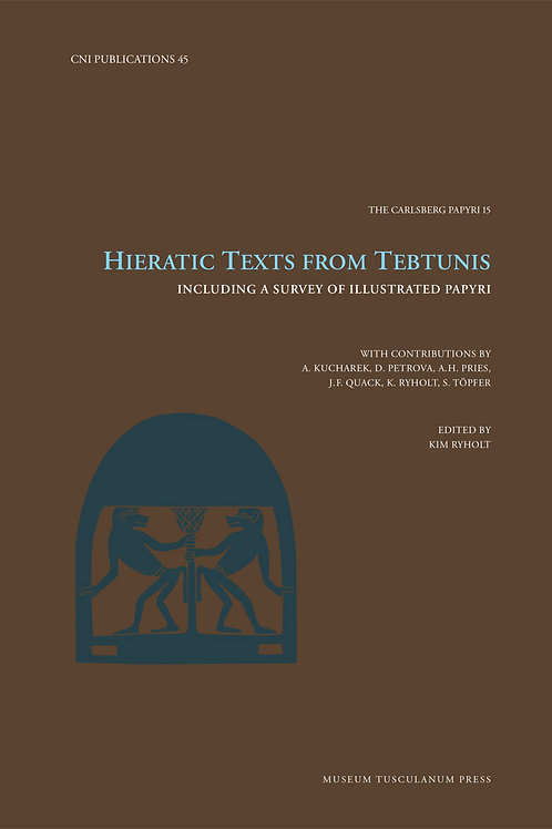 Kim Ryholt, Hieratic Texts from Tebtunis