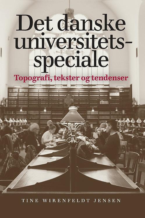 Tine Wirenfeldt Jensen, Det danske universitetsspeciale