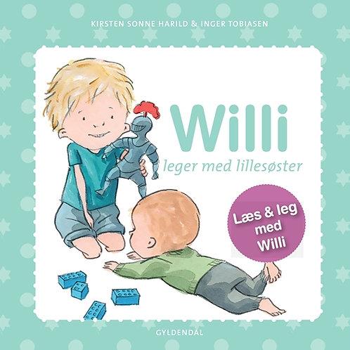 Kirsten Sonne Harild;Inger Tobiasen, Willi leger med lillesøster