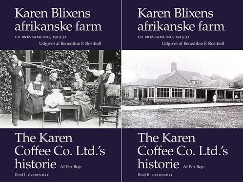 Aage Westenholz;Karen Blixen, Karen Blixens afrikanske farm. En brevsamling 1913