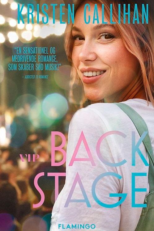 Kristen Callihan, Backstage