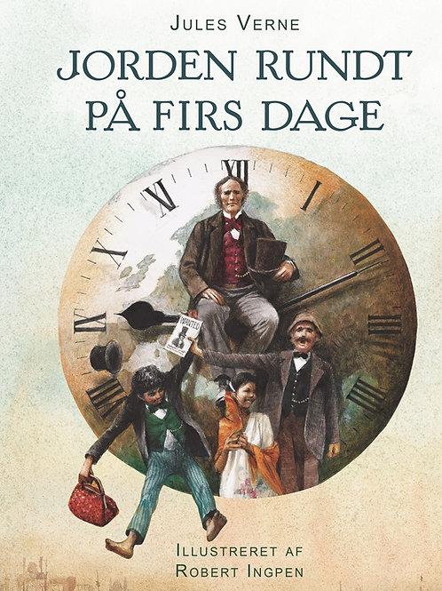 Jules Verne, Jorden rundt på firs dage