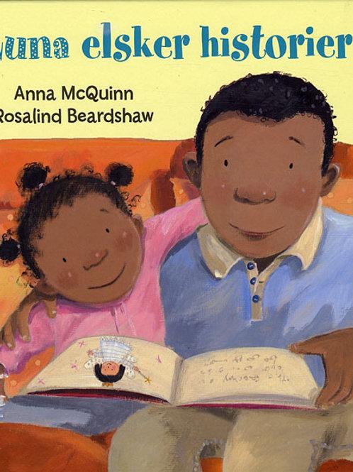 Anna McQuinn, Luna elsker historier