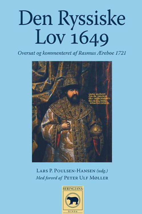 Lars P. Poulsen-Hansen, Den Ryssiske Lov 1649