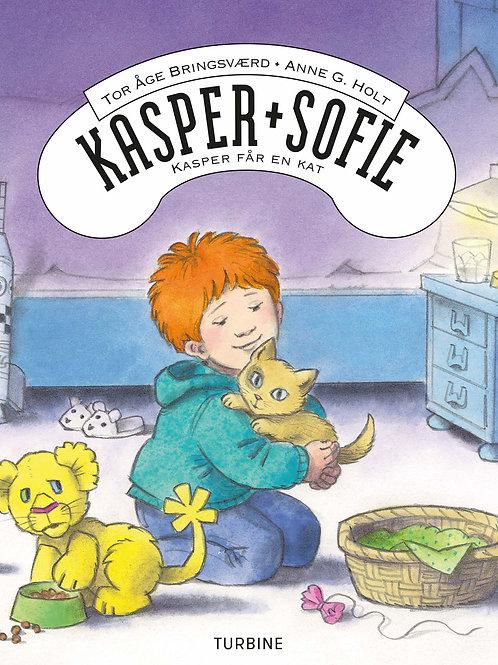 Tor Åge Bringsværd, Kasper og Sofie - Kasper får en kat