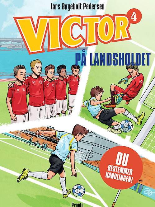 Lars Bøgeholt Pedersen, VICTOR På landsholdet