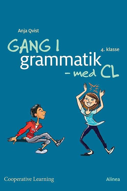 Anja Rosa Qvist, Gang i grammatik - med cl, 4. klasse, elevhæfte