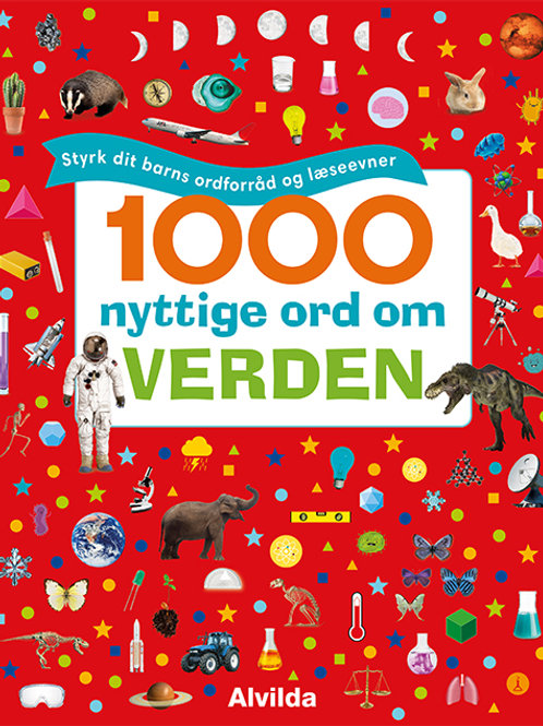 , 1000 nyttige ord om verden - Styrk dit barns ordforråd og læseevner