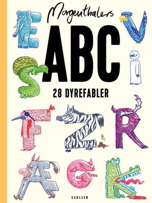 Anders Morgenthaler, Morgenthalers ABC: 28 dyrefabler, som du selv kan læse