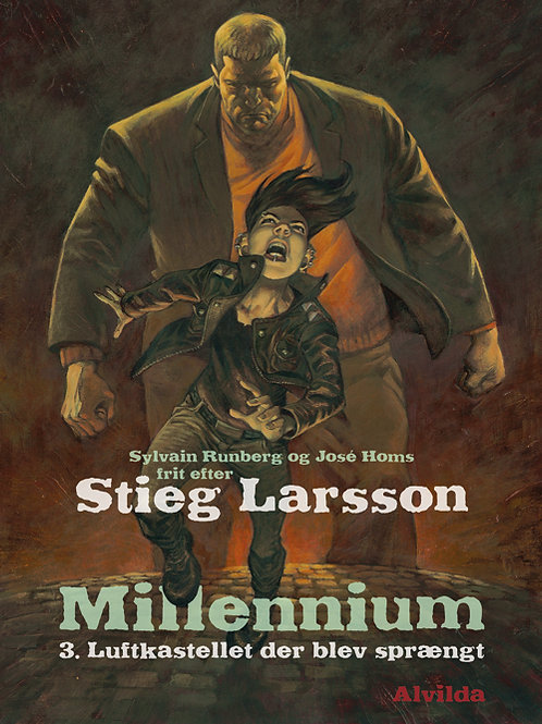 Stieg Larsson, Sylvain Runberg, Millennium 3: Luftkastellet der blev sprængt