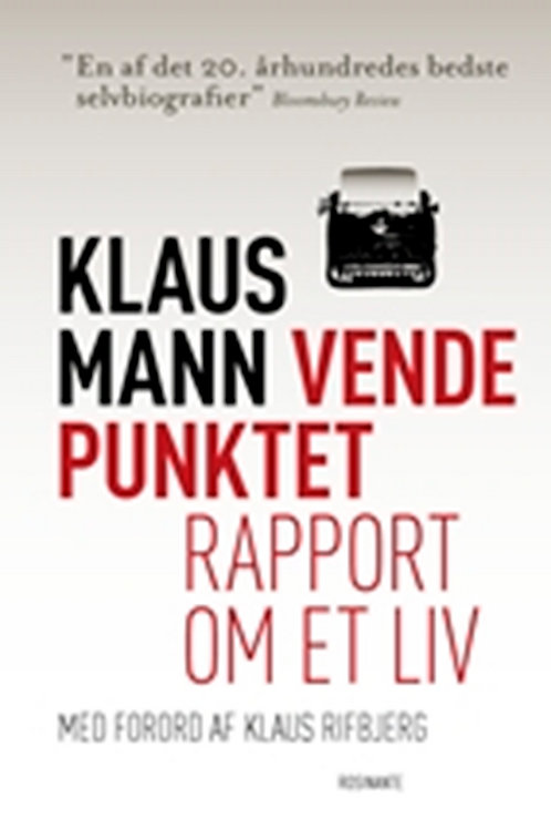 Klaus Mann, Vendepunktet