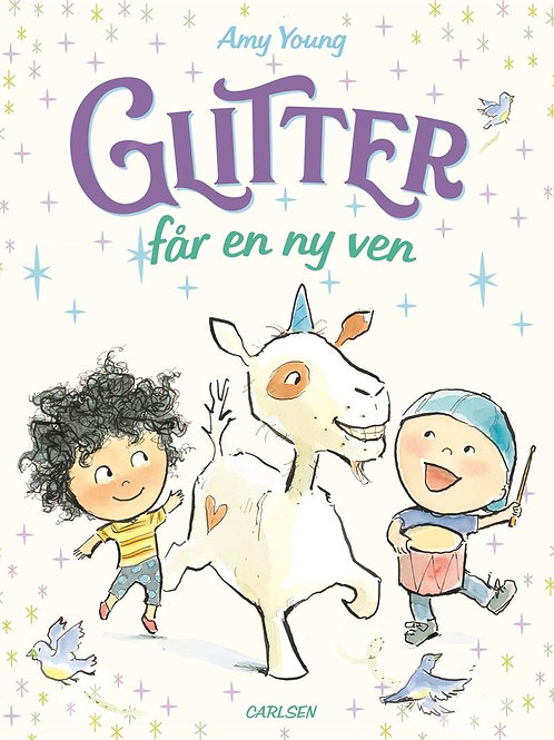 Amy Young, Enhjørningen Glitter (2) - Glitter får en ny ven