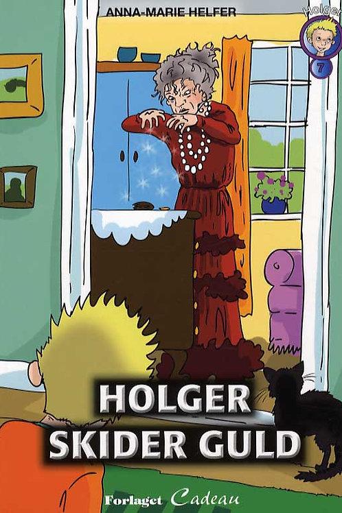 Anna-Marie Helfer, Holger skider guld