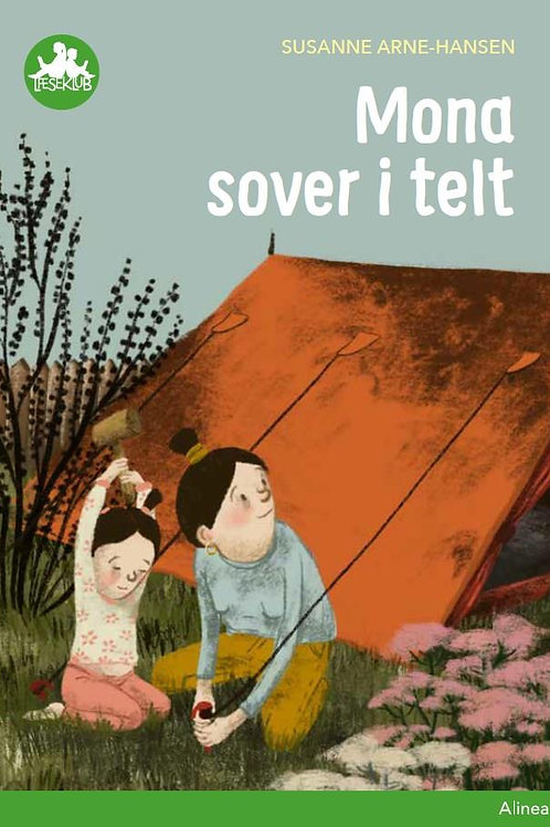 Susanne Arne-Hansen, Mona sover i telt, Grøn Læseklub