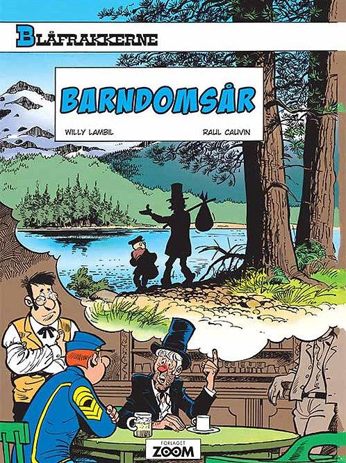 Lambil, Raoul Cauvin, Blåfrakkerne: Barndomsår