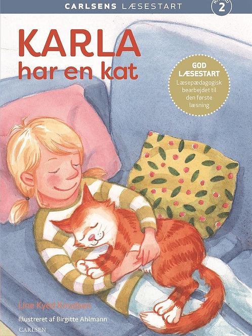 Line Kyed Knudsen, Carlsens Læsestart: Karla har en kat