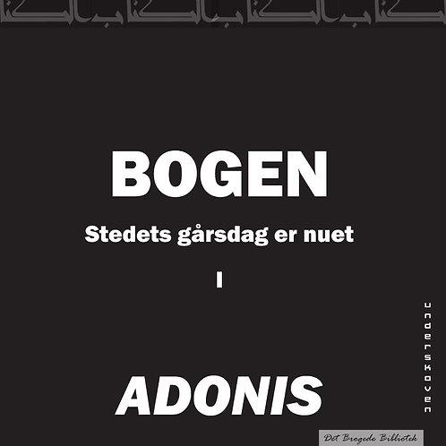 Adonis Adonis, Bogen