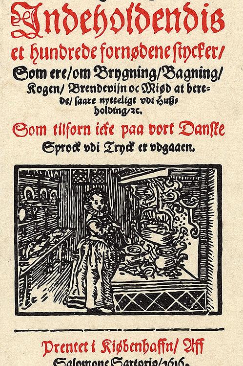 Anna Wecker, Koge Bog, indeholdendis et hundrede fornødene Stycker, som ere om B