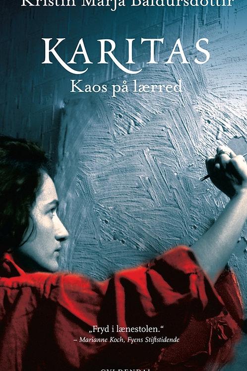 Kristín Marja Baldursdóttir, Karitas. Kaos på lærred