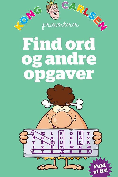 Kong Carlsen, Kong Carlsen - Find ord-opgaver (kolli 5)