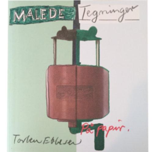 Torben Ebbesen, Malede tegninger på papir