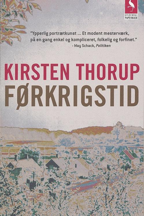 Kirsten Thorup, Førkrigstid