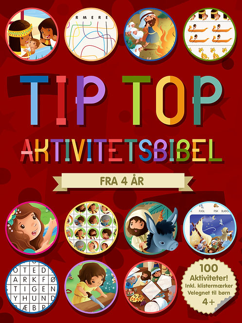 Andrew Newton, oversat af Anette Broberg Knudsen, Tip Top Aktivitetsbibel 4+