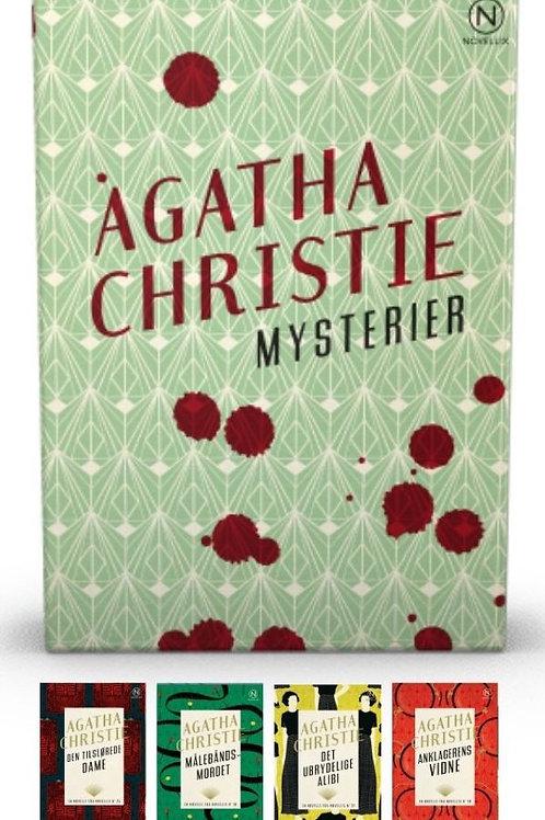 Agatha Christie, Gaveæske med fire mysterier af Agatha Christie