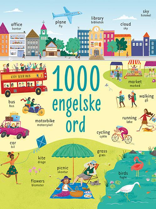 , 1000 engelske ord