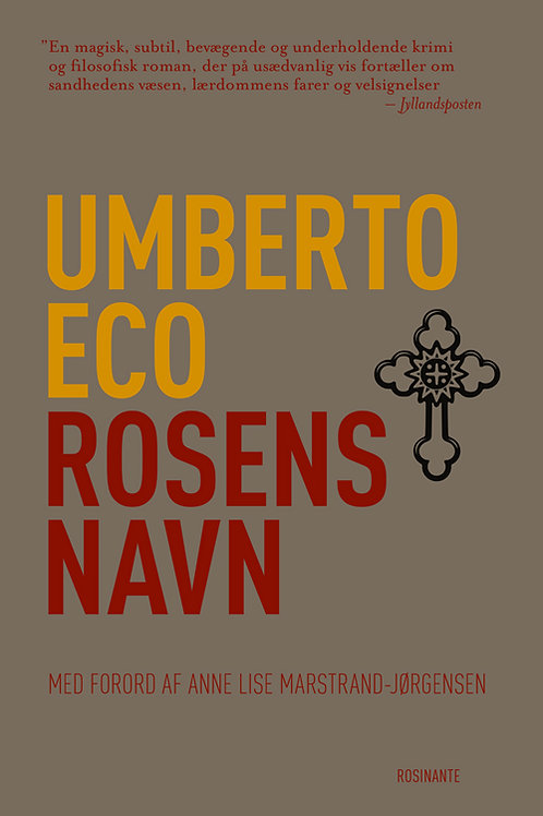 Umberto Eco, Rosens navn