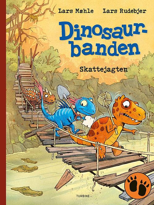 Lars Mæhle, Dinosaurbanden – Skattejagten