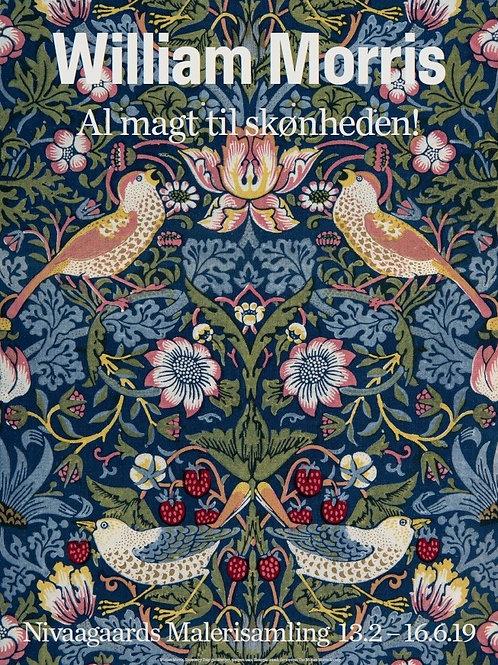 William Morris plakat. Al magt til skønheden.
