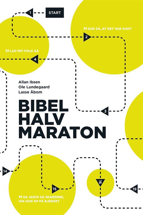 Allan Ibsen, Ole Lundegaard, Lasse Åbom, Bibelhalvmaraton