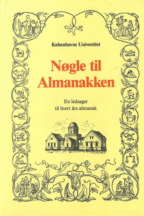 Thorkild Damsgaard Olsen, Københavns Universitet, Nøgle til Almanakken