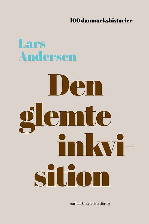 Lars Andersen, Den glemte inkvisition