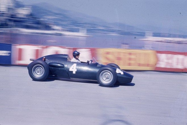 Ron Flockhart's 1957 BRM P25