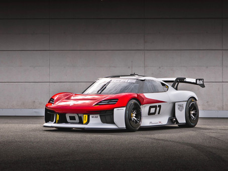 Four things we learned from Porsche's Mission R concept