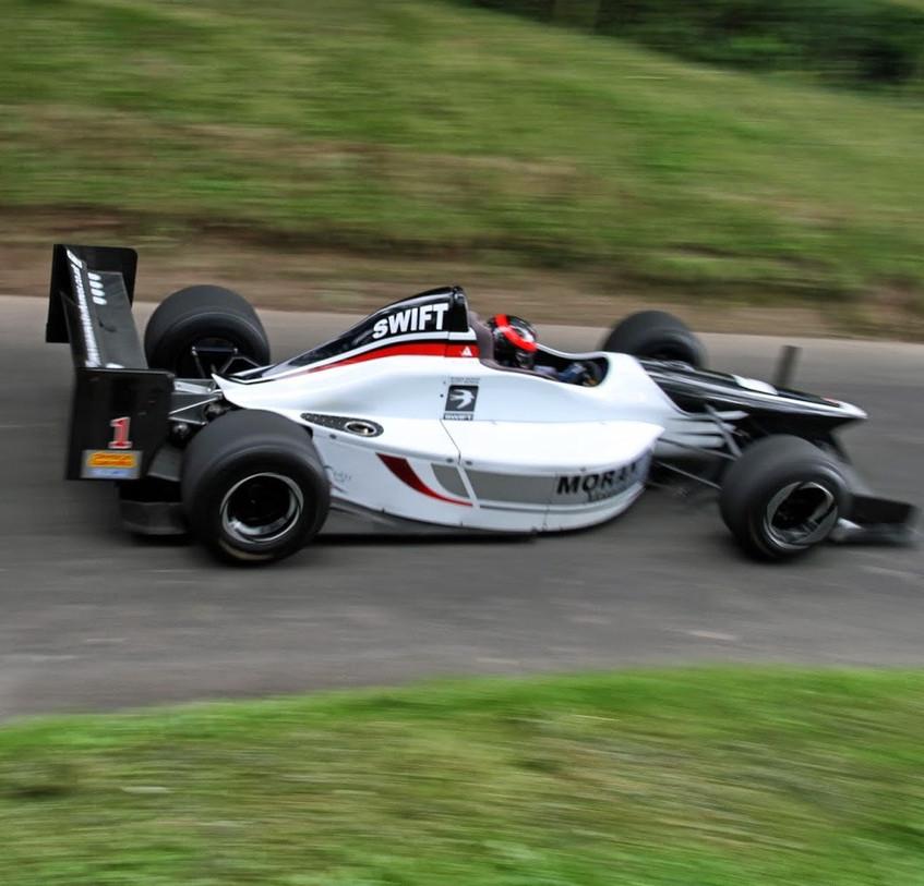 Scott Moran 6x British Champion