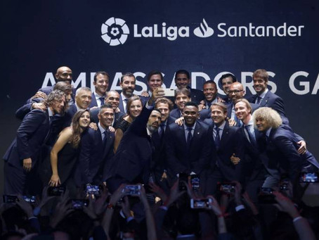 LALIGA SANTANDER AMBASSADORS ADDS FOUR NEW GLORIES