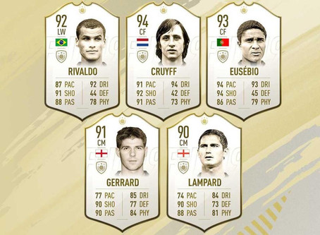 NEW SIGNINGS FOR EA SPORTS - FIFA 19 ICONS