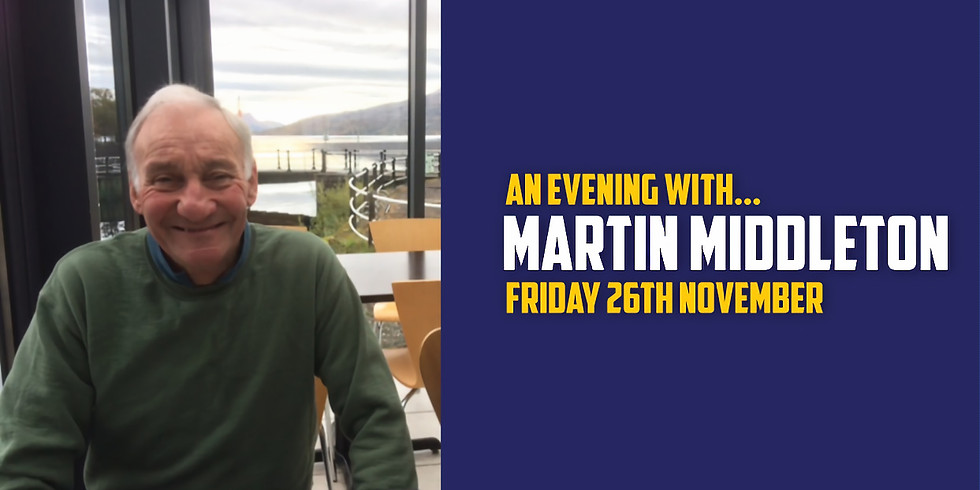 An evening with 'Martin Middleton'