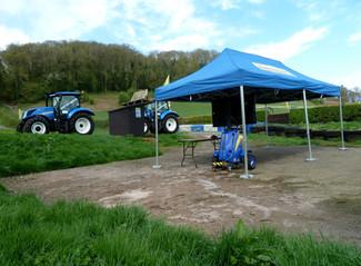 New Holland set tractor record at Shelsley Walsh