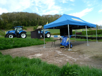 New Holland set tractor record at Shelsley Walsh