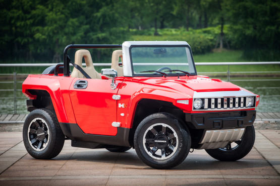MEV™ HUMMER HX-T™ Flat Red - Side Centre