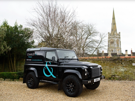 Brand New Look for our Land Rover Defender