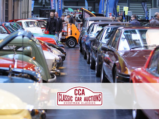 New partnership with Classic Car Auctions