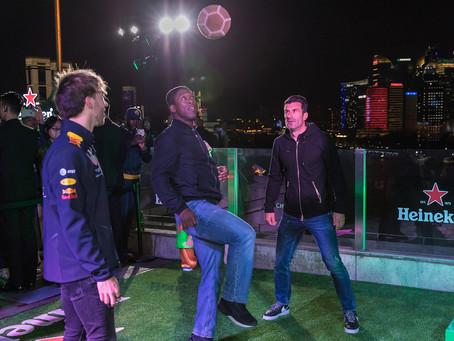 HEINEKEN IN UEFA X F1 ACTIVATION