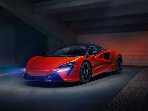 Four things to know about McLaren's new plug-in hybrid, the Artura